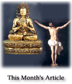 Buddha and Christ - Two Gods on the Path to Humanity