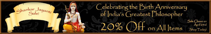 Shankar Jayanti Special Sale!! 20% OFF ON ALL ITEMS WITH FREE SHIPPING WORLDWIDE